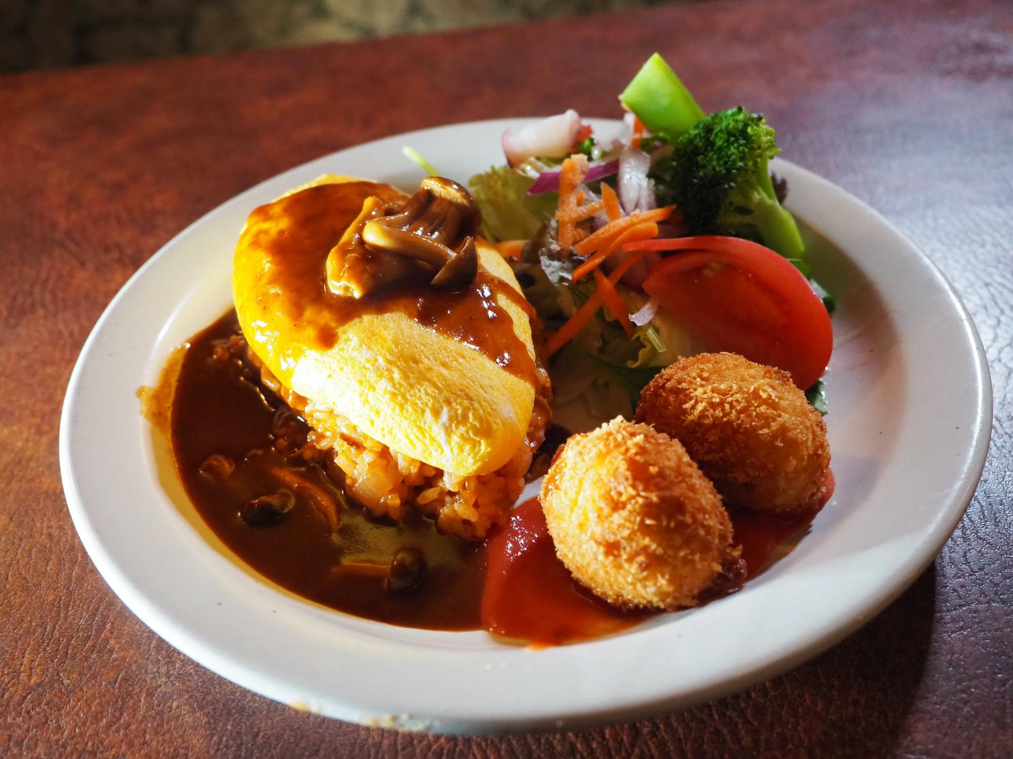 洋食家ロンシャン 本店の料理写真